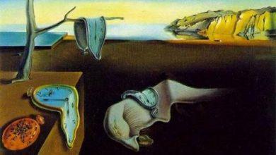 """صورة لوحة """"إصرار الذاكرة"""" The Persistence of Memory"""