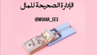 صورة الطريقه الصحيحه لاادارت المال