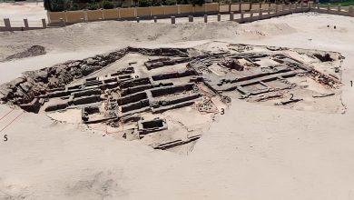 صورة إكتشاف جديد لعلماء الآثار بمصر
